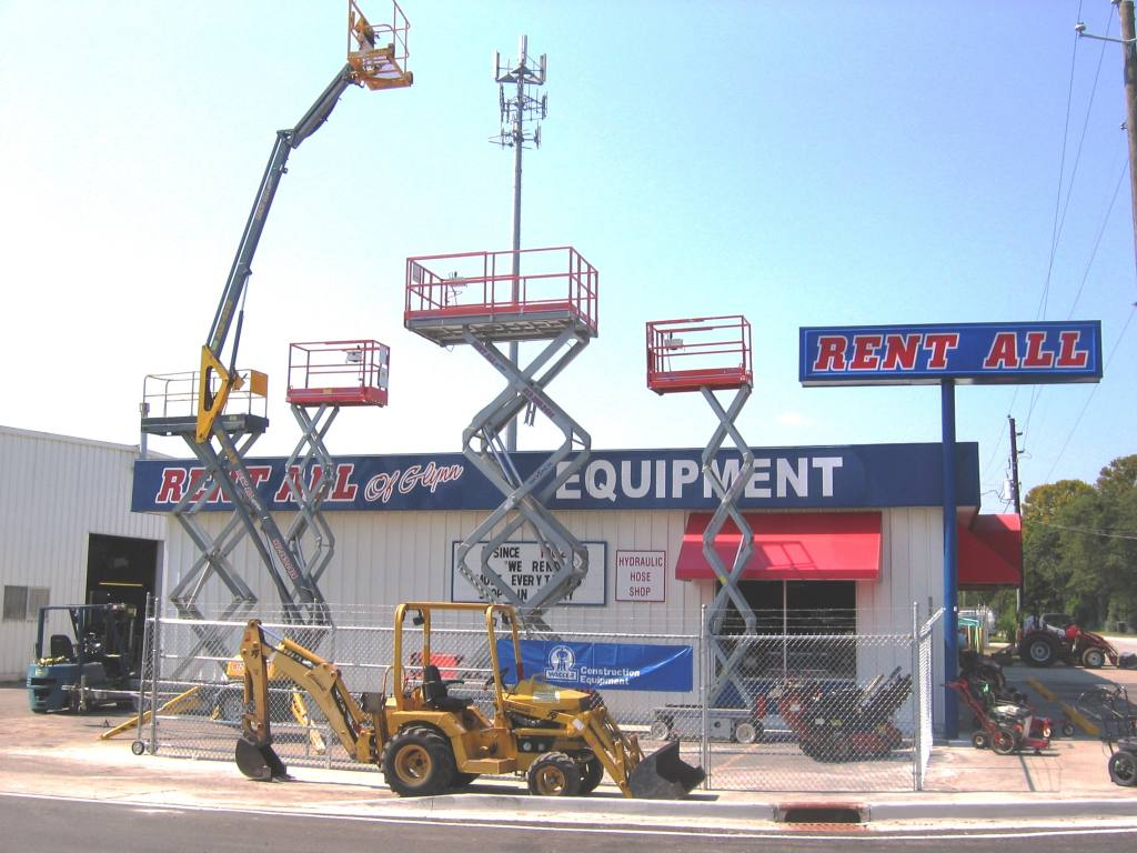 Skyscrapper equipment rental