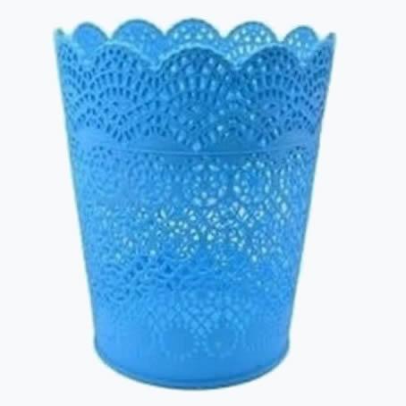 plastic basket waste bin