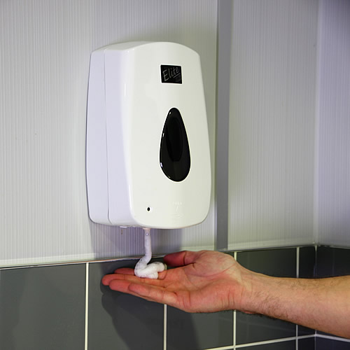 automatic touch free sanitizer dispenser