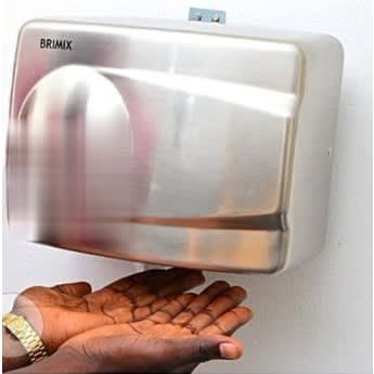 Brimix automatic stainless hand dryer lagos nigeria