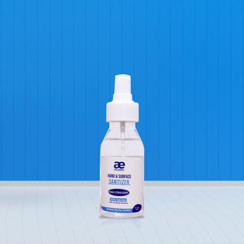 120ml atlantic hand sanitizer spray