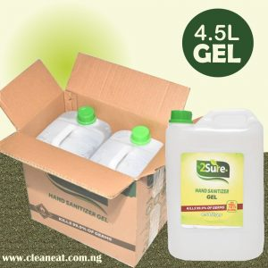 4.5L 2Sure Sanitizer Gel
