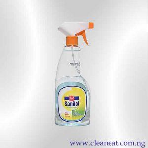 500ml sanitol hand sanitizer liquid spray