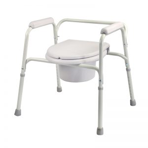 low price plastic commode chair
