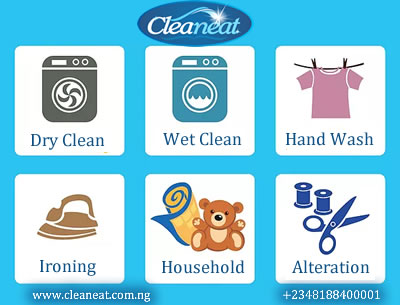 Laundry and drycleaners in Ikeja Lagos Nigeria
