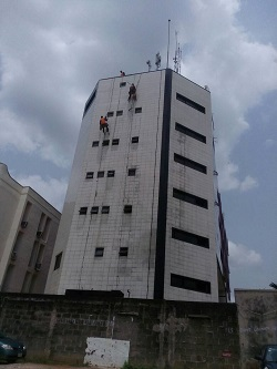 high rise window cleaners lagos