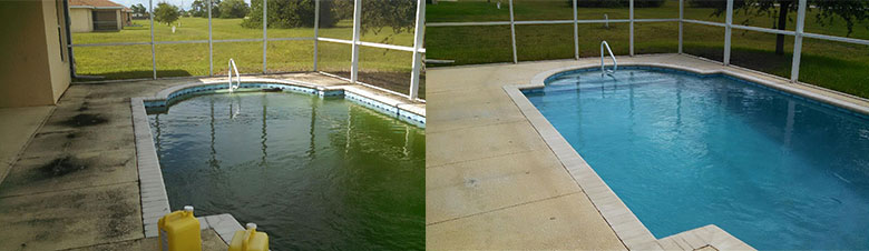 swimming pool cleaning experts in lekki lagos