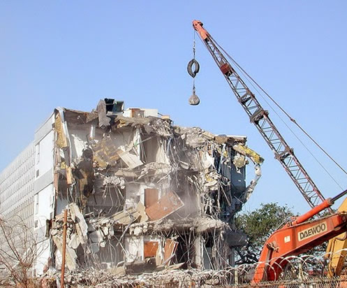 house demolition services company in ikeja and Lekki
