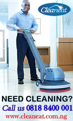 Cleaning service in Lagos