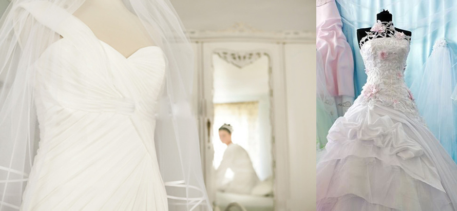 wedding gown cleaning lagos