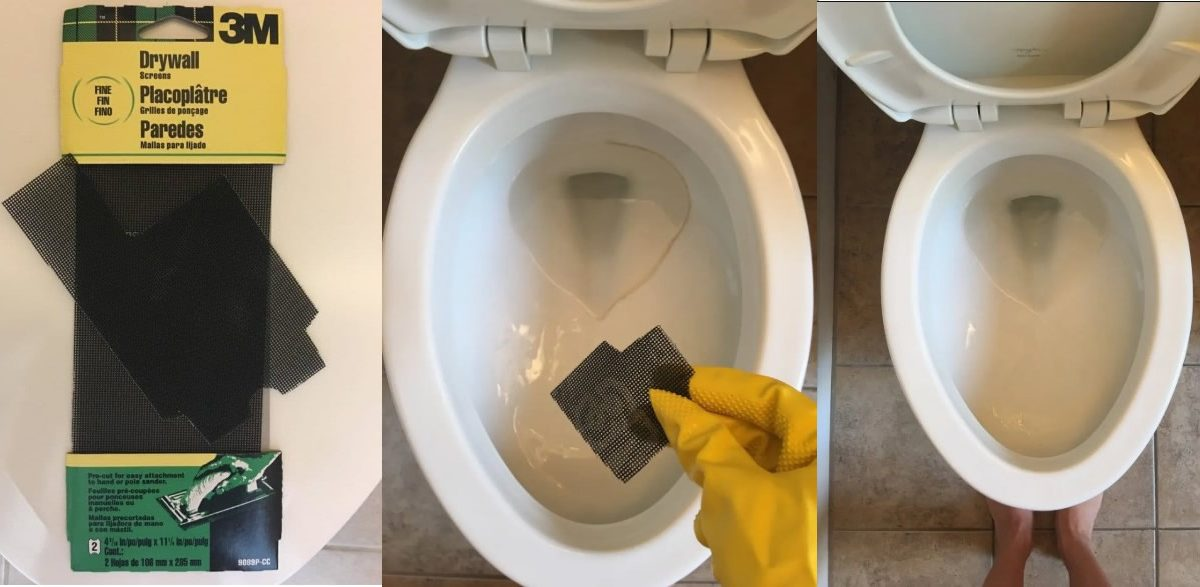 toilet stain removal hacks