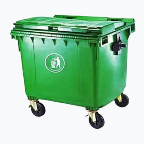 1,100 Litre Plastic Wheelie Waste Bin