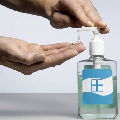online Hand-Sanitizer website