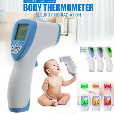 LCD-Digital-Non-contact-IR-Infrared-Thermometer-Forehead-Body-nigeria