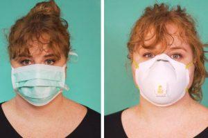 surgical mask vs N95 mask