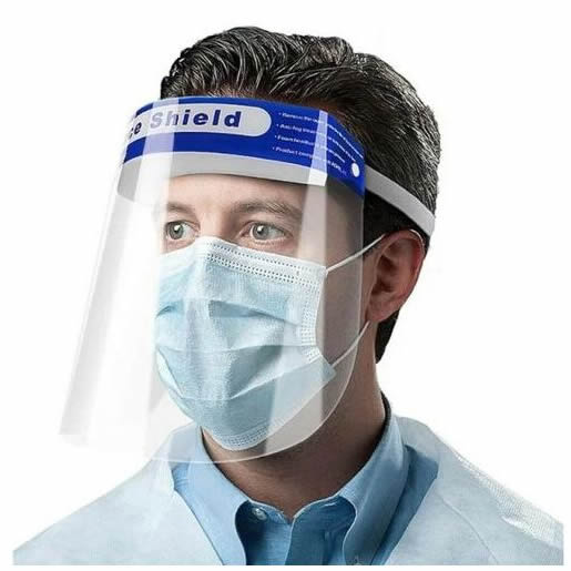 High quality imported foreign face shield