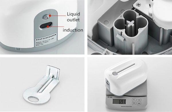1.1L automatic soap dispenser lagos nigeria