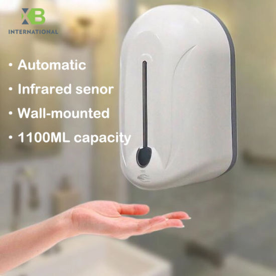 1100ml-Large-Capacity-Wall-Mounted-Automatic-Soap-Dispenser-Touchless-Soap-Dispenser-Automatic-Hand-Sanitizer-Dispenser