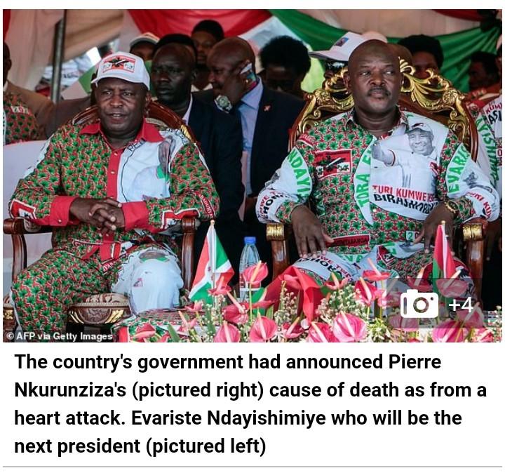 burundi president died of covid