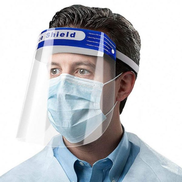 imported foreign high grade face shield