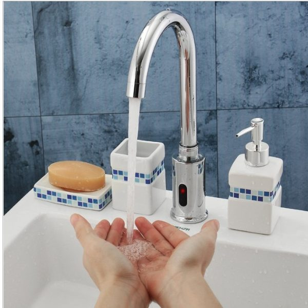 non touch automatic sensor faucet tap ikeja lagos nigeria