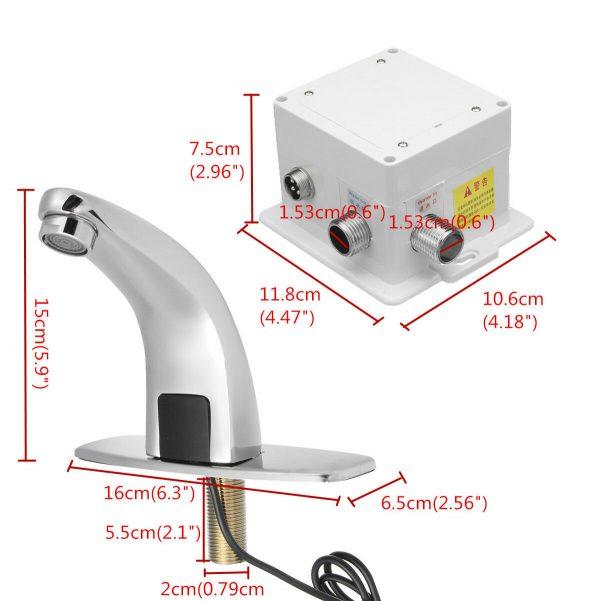 sensor faucet package