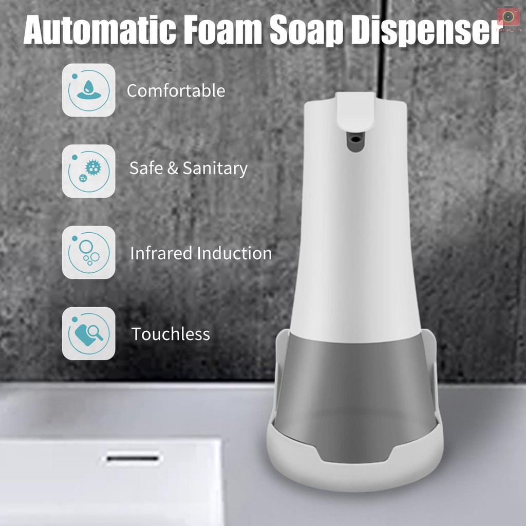 350ml automatic foam soap dispenser infrared hands free touchless