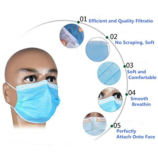 3ply nose mask price in nigeria