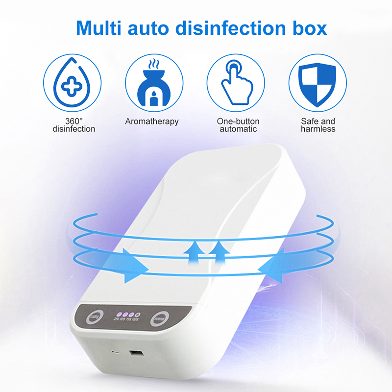 Ultra-Violet Disinfection Box for phone