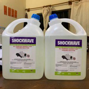shockwave disinfectant