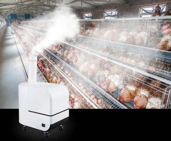 warehouse disinfection fog machine sprayer