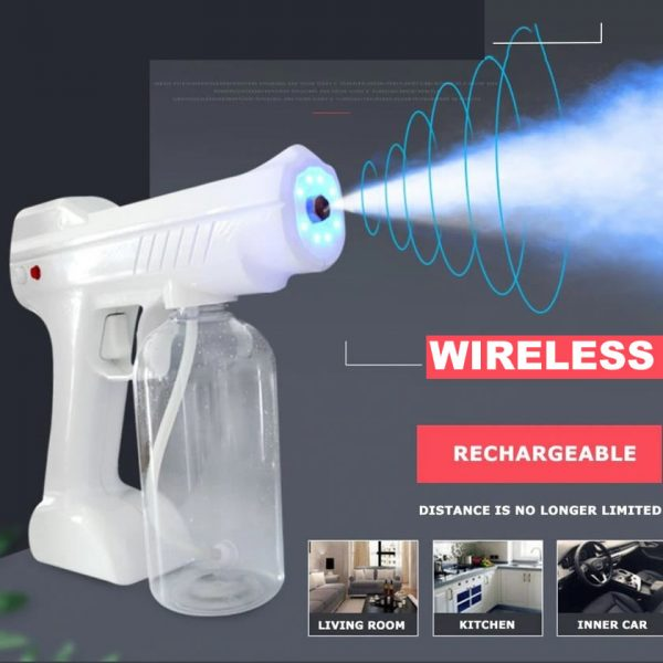 wireless disinfectant fog machine spray gun