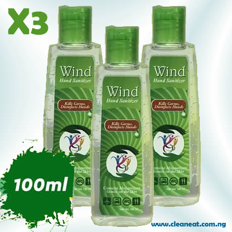 100ml wind hand sanitizer