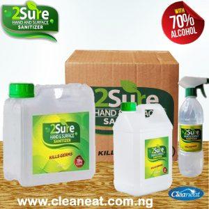 2Sure hand sanitizer wholesale in lagos nigeria