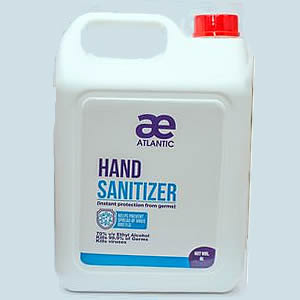 4 liters atlantic hand sanitizer