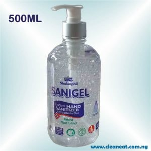500ML sanigel hand sanitizer