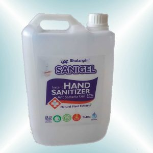 5L Sanigel hand sanitizer gallon lagos nigeria