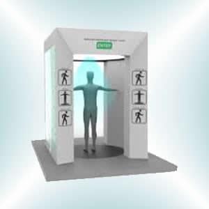 sanitizer spray tunnel booth gate