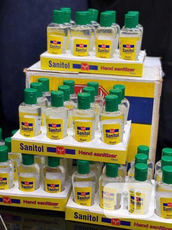 70ml sanitol sanitizer carton price