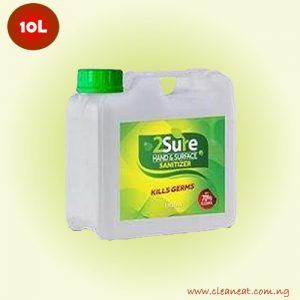 10L 2sure hand sanitizer bulk price lagos nigeria