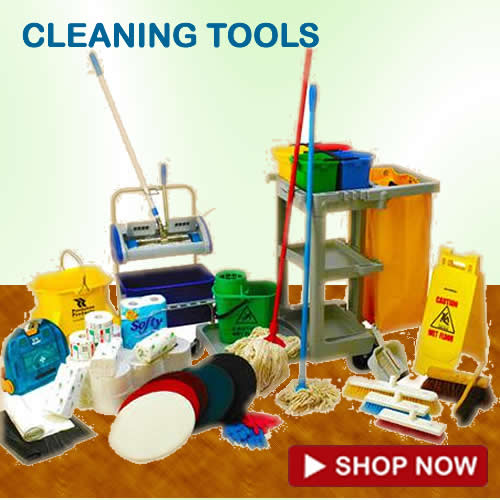 CLEANING JANITORIAL SUPPLIES