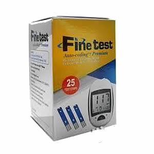 Fine Test Blood Sugar Monitor