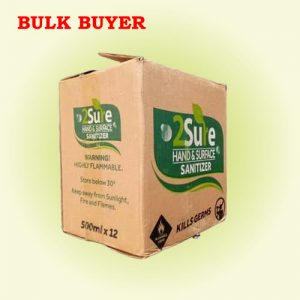 carton bulk price for 2sure sanitizers