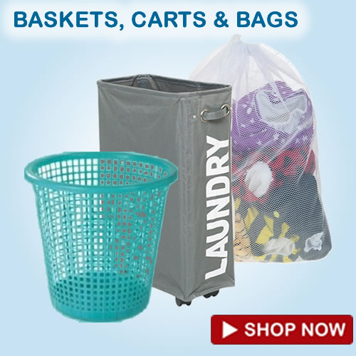 laundry bags carts baskets