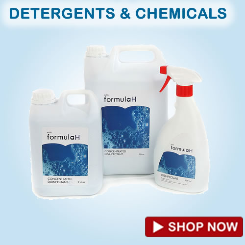 laundry detergents and chemicals