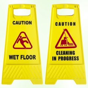 safety signs for cleaning