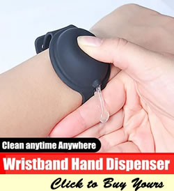 wristband hand sanitizer dispenser price in lagos nigeria