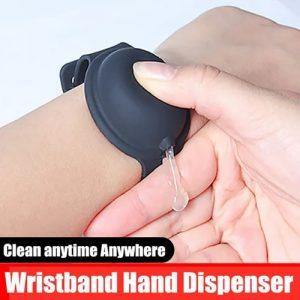 wristband hand sanitizer dispenser in lagos nigeria