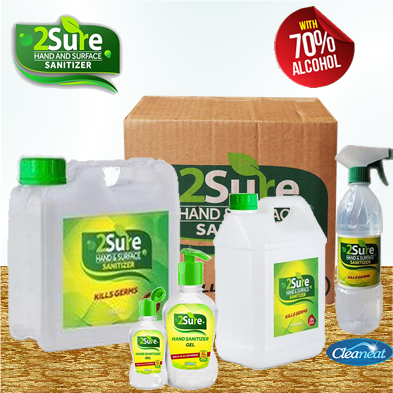 2sure Sanitizer companies in Nigeria