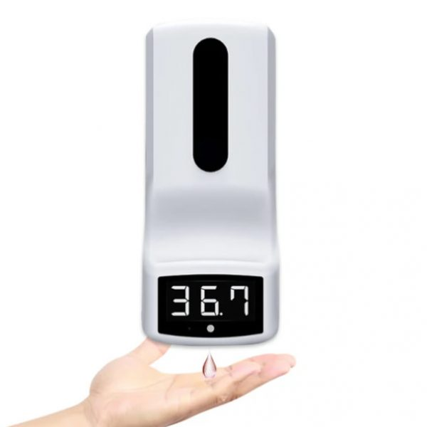 2 in 1 dispenser and thermometer